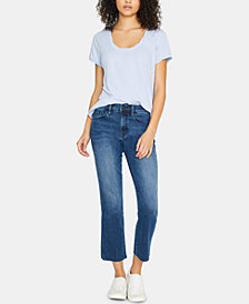 Sanctuary Modern Standard Straight Cropped Jeans