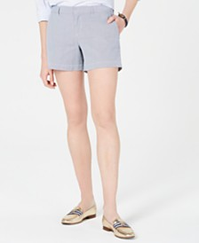 Tommy Hilfiger Striped Chino Shorts, Created for Macy's
