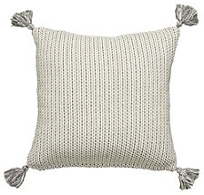 LR Home Crisp Drop Stitch Throw Pillow