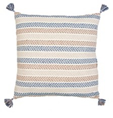LR Home Altair Oceanside Large Floor Pillow