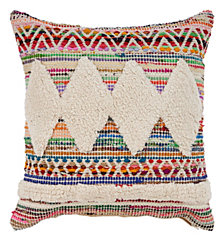 LR Home Diamond Chevron Throw Pillow