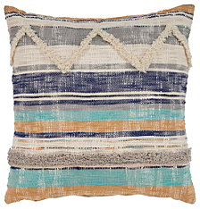 LR Home Geometric Chevron Throw Pillow