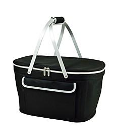 Market Basket Picnic Cooler, Collapsible - Sturdy Aluminum Frame