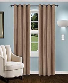 """Linen Textured Blackout Curtain, Set of 2, 52"""" x 63"""""""
