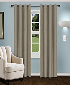 "Linen Textured Blackout Curtain, Set of 2, 52"" x 84"""