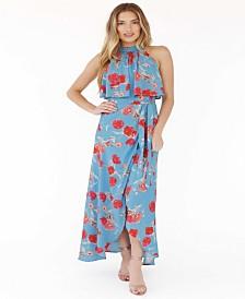 Plum Pretty Sugar Jayne Halter Dress
