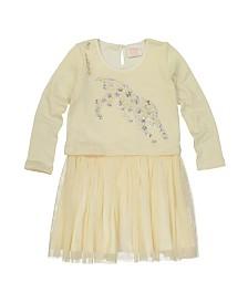 Masala Baby Girls Charming Dress Cheetah Jump Winter