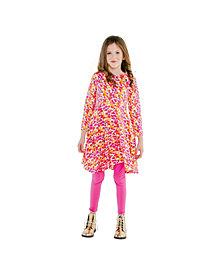 Masala Baby Girls Organic Cotton Misha Dress Spotted