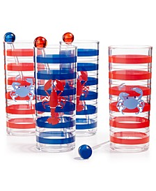 Grilling Tom Collins Glasses, Set of 4, Created for Macy's
