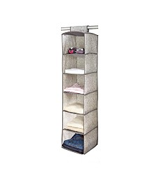 Laura Ashley 6 Shelf Closet Organizer in Almeida