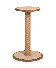 Prevue Pet Products Kitty Power Paws Tall Round Post With Platform 7102