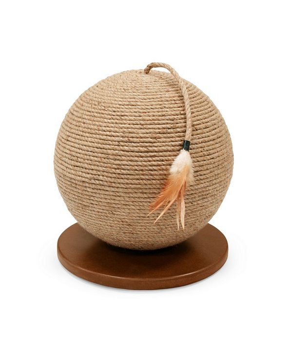 Prevue Pet Products Kitty Power Paws SPhere With Tassel 7130