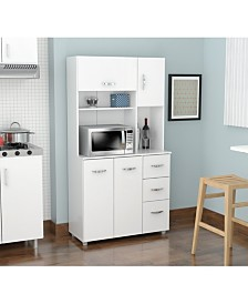 Inval America Kitchen Storage Cabinet