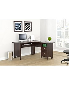 L Shaped Computer Writing Desk