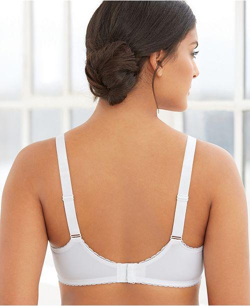 1deac1d786 Glamorise Women s Full Figure Wonderwire Lace Bra  9845 - Bras ...