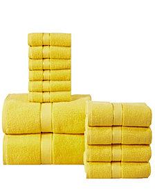 Elegance Spa Luxurious Cotton 12 Piece Towel Set