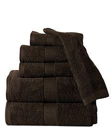 Casa Platino Supersoft Plush Low Twist Cotton 6 Piece Towel Set