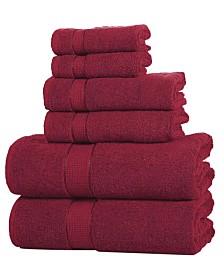 Elegance Spa Luxurious Cotton 6 piece Towel Set