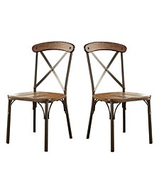 Wagner Industrial Dining Chair (Set of 2)