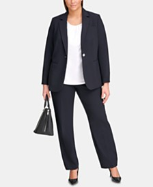 0c5085348f5 Plus Size Business Suits  Shop Plus Size Business Suits - Macy s