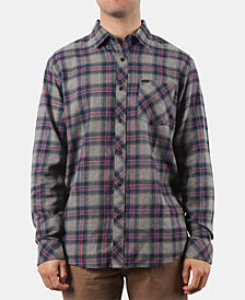 Rip Curl Men's Dayton Plaid Flannel Shirt