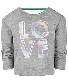 Ideology Little Girls LOVE Graphic Sweatshirt, Created for Macy's
