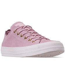 Converse Women's Chuck Taylor All Star Low Top Frilly Thrills Casual Sneakers from Finish Line