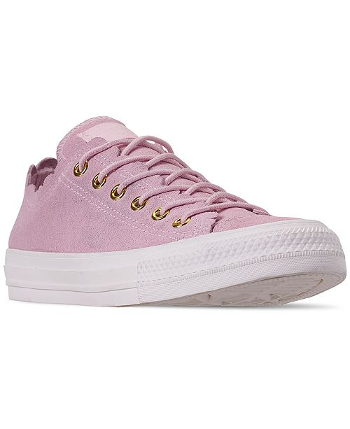 df4913f214e0 ... Converse Women s Chuck Taylor All Star Low Top Frilly Thrills Casual  Sneakers from Finish ...
