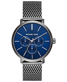 Michael Kors Men's Blake Gunmetal Stainless Steel Mesh Bracelet Watch 42mm