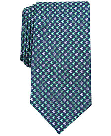 Club Room Men's Daisy Neat Tie, Created for Macy's