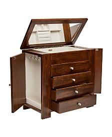Mele & Co. Makenna Wooden Jewelry Box