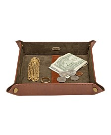Mele & Co. Travis Men's Dresser Top Valet Tray