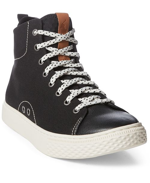 Polo Ralph Lauren Men's Dleaney High-Top Sneakers