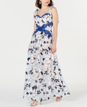 Foxiedox Dresses FOXIEDOX LIVI FLORAL MAXI DRESS