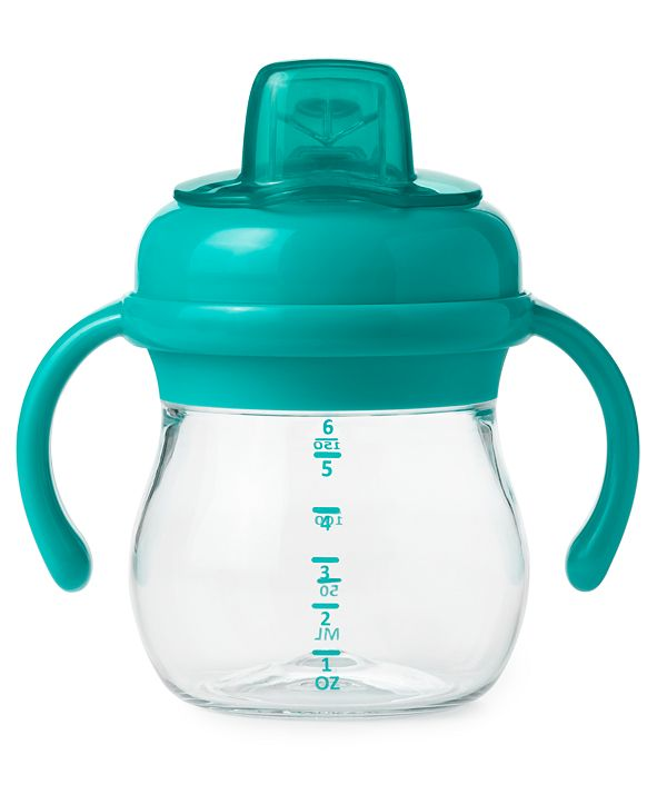 OXO Tot Transitions Soft Spout Sippy Cup With Removable Handles, 6-oz.