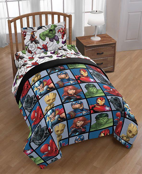 Avengers Marvel Marvel Team Full 5-Pc. Bed in a Bag