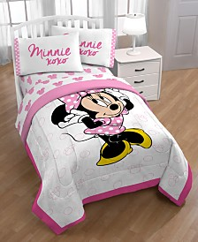 Disney Minnie Mouse XOXO Twin 4-Pc. Bed in a Bag