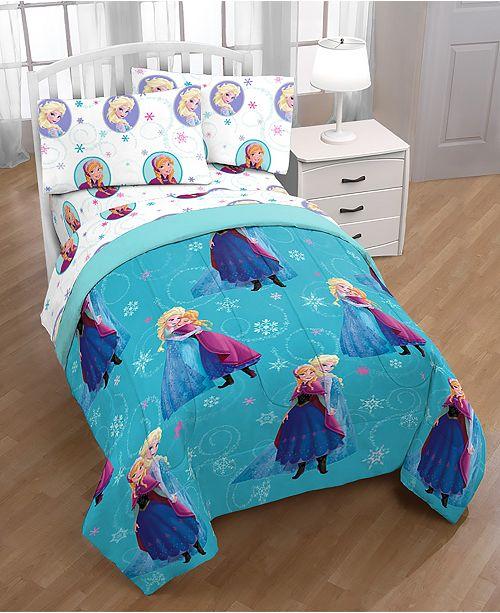 Disney Frozen Swirl Full Bed in a Bag