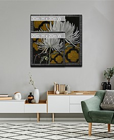 Flora Petals III Floral Canvas Wall Art Collection