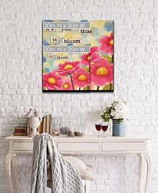 Confirmation II Floral Canvas Wall Art Collection