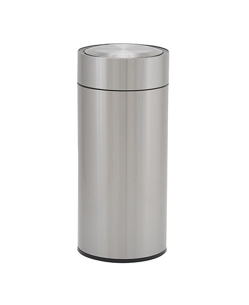 Household Essentials Stainless Steel 30L Regatta Round Sensor Trash Bin