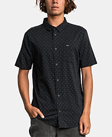 RVCA Men's Legacy Dot-Print Shirt