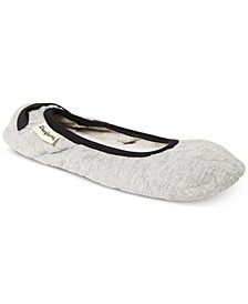 Women's Carrie Cable Quilted Ballerina Slippers, Online Only