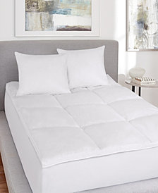 J. Queen New York Royalty No-Quill King Feather Bed Topper