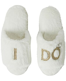 Bride and Bridesmaids Slide Slippers, Online Only