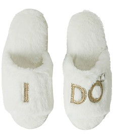 Dearfoams Bride and Bridesmaids Slide Slipper