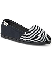 Women's Katie Mini Stripe Slipper, Online Only