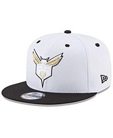 New Era Charlotte Hornets Double Twist 9FIFTY Snapback Cap