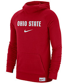 Nike Men's Ohio State Buckeyes Dri-FIT Stadium Hooded Sweatshirt