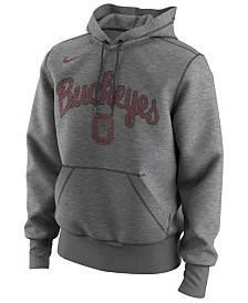 Nike Men's Ohio State Buckeyes Retro Basketball Hooded Sweatshirt